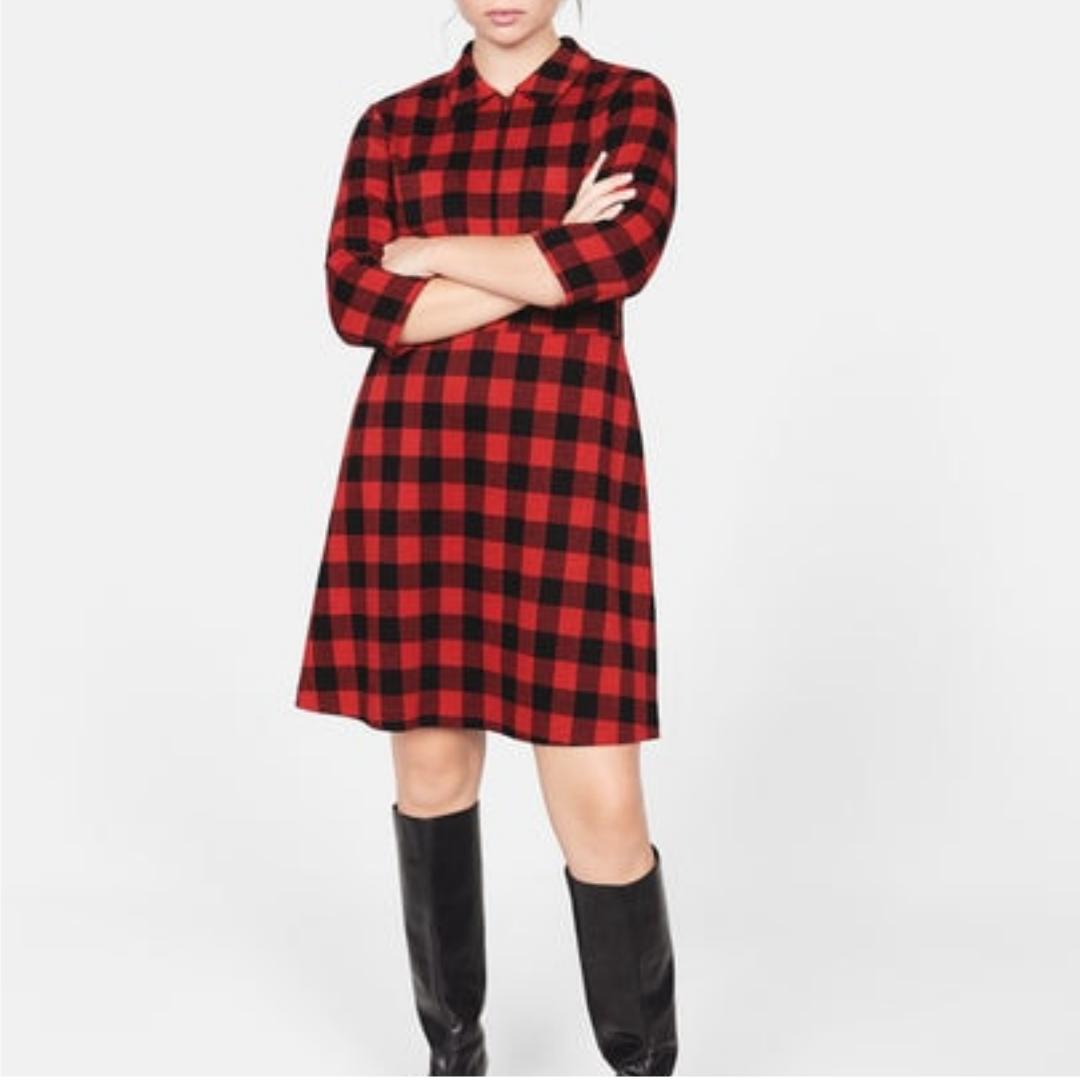 compra venta nuevo alto gama exclusiva TENDENCIAS DE INVIERNO - Violeta BY MANGO - female - Vestido ...