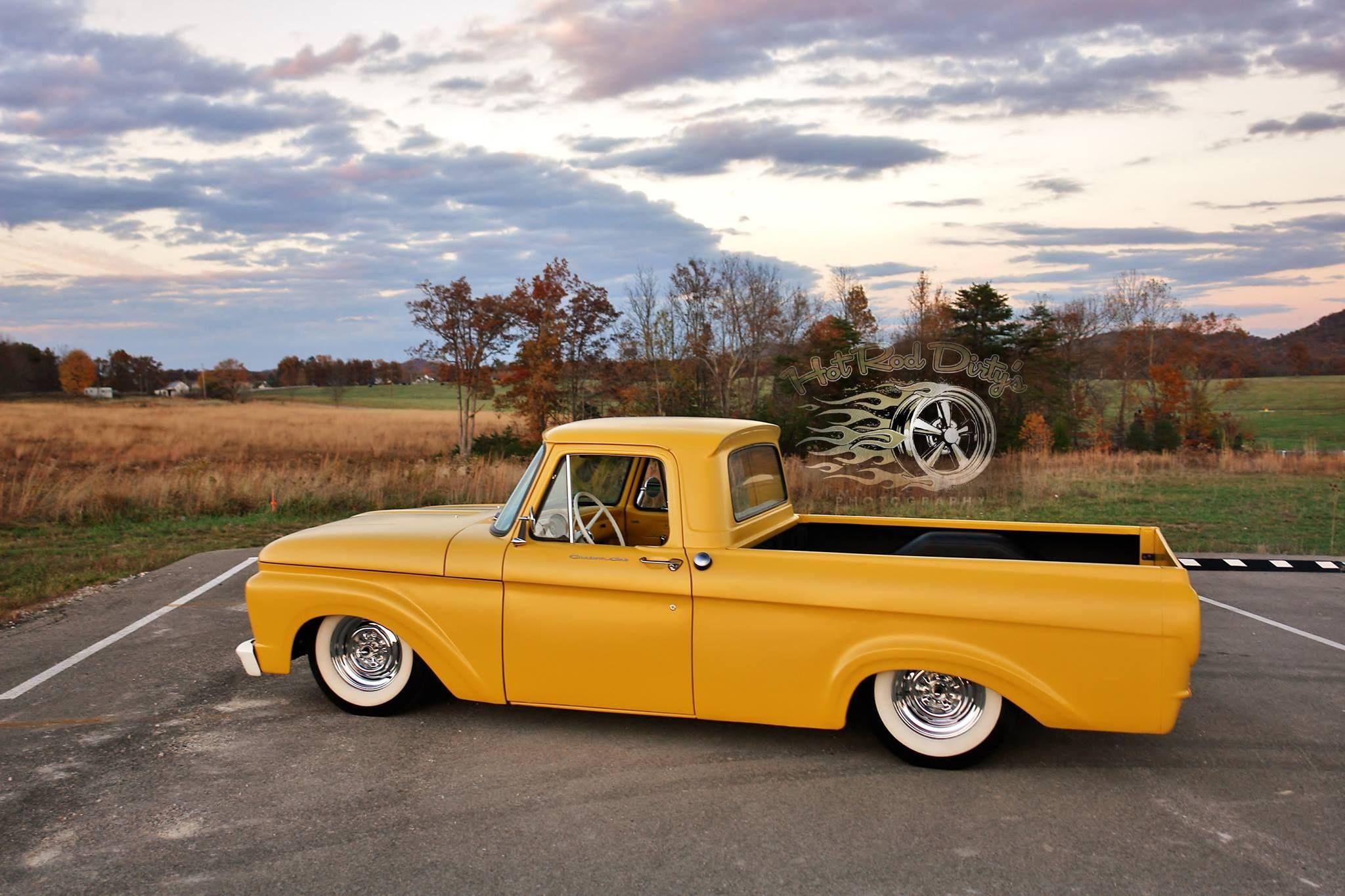 1962 Ford Unibody Kustom Pickup Lowrider Custom Hot Rod Rods