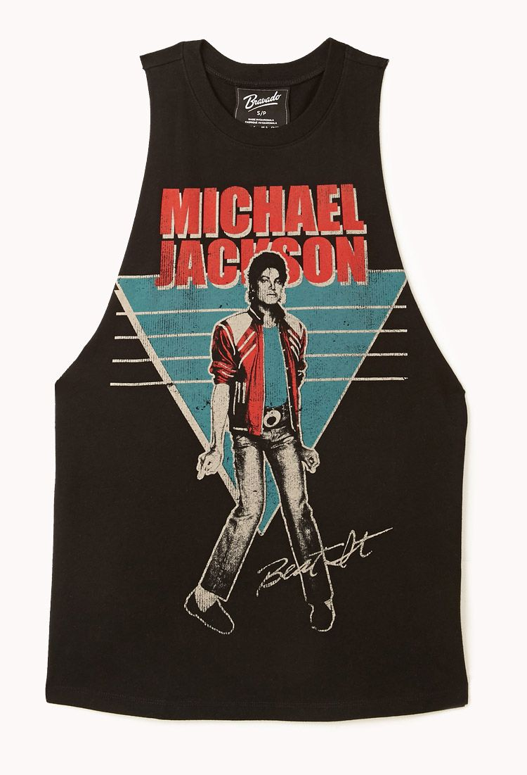 5d898300 Michael Jackson© Muscle Tee | FOREVER21 - 2002246425 | Stuff to Buy ...