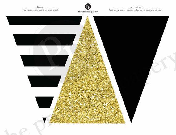 Te extra/ñaremos Banner Gold Glitter Banner y Triangle Flag Banner para la jubilaci/ón Despedida Fiesta de Trabajo de Oficina