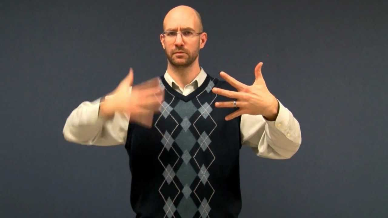 Box American Sign Language Asl Classroom Sign Language American Sign Language Sign Language