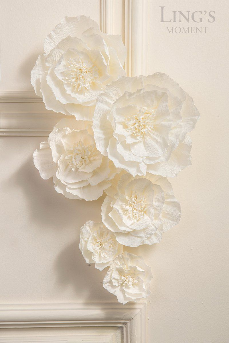 Amazon Com Ling S Moment 3d Artificial Flowers 6 X Large Off