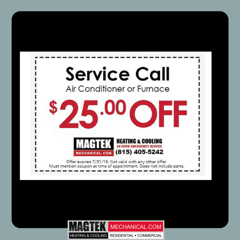 Save 25 On Your Next Service Call Magtek Ac Furnace Hvac