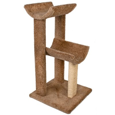 Ware Manufacturing 38 Small Kitty Cat Perch Color Brown Cat Perch Cat Tree Cat Towers
