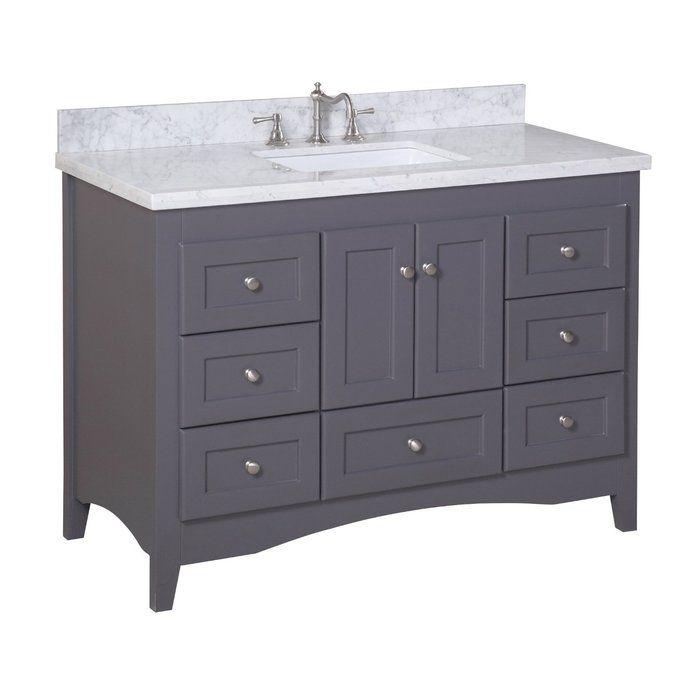 Weddle 48 Single Bathroom Vanity Set With Images Kitchen Bath