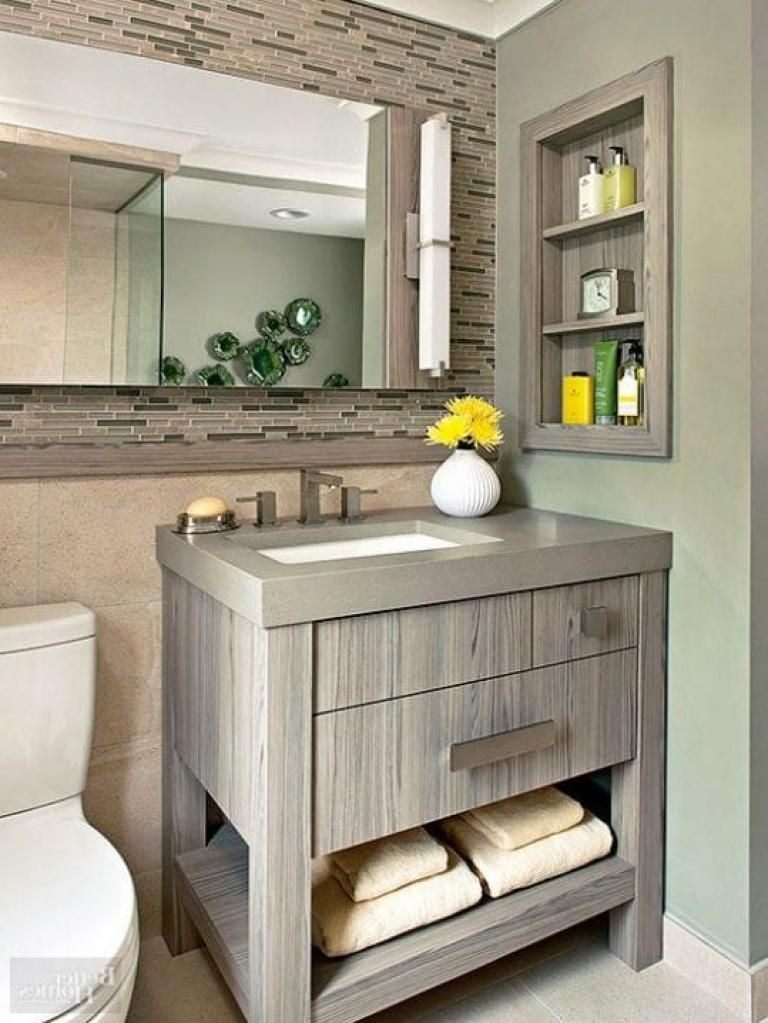 29 Small Guest Bathroom Ideas To Wow