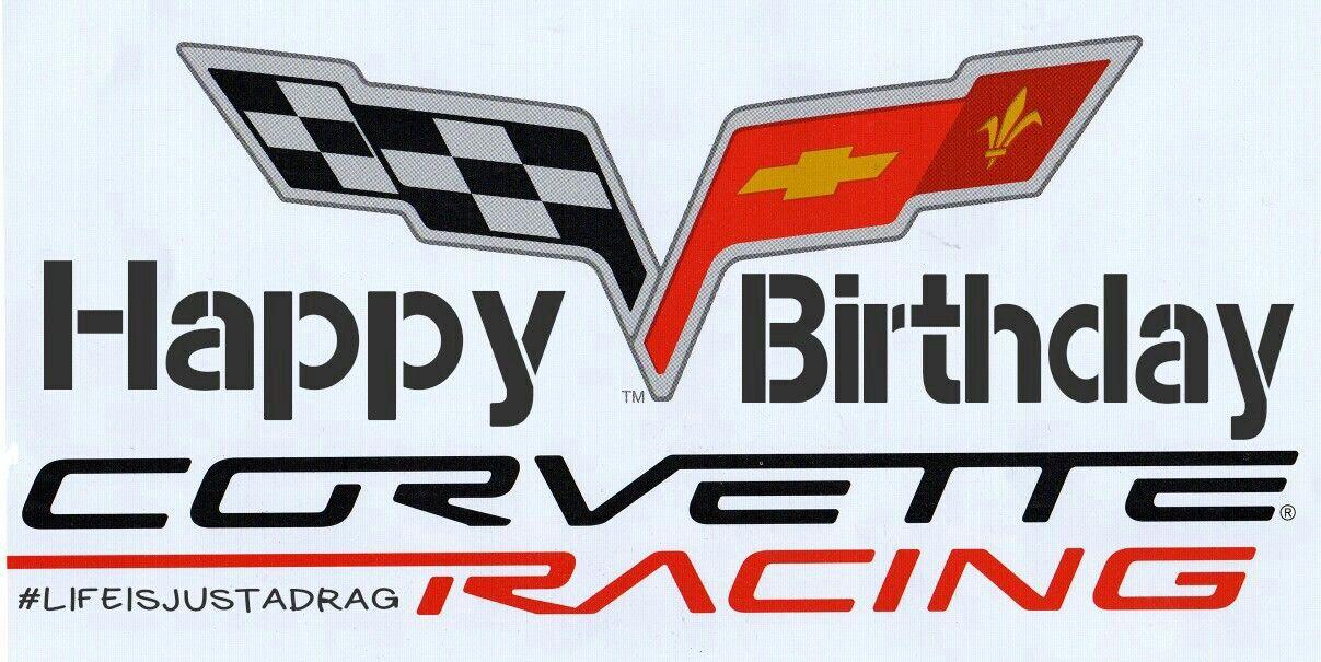 Corvette Chevy Stingray Z06 Garage wall fathead Sticker Sports Luxury Race Car