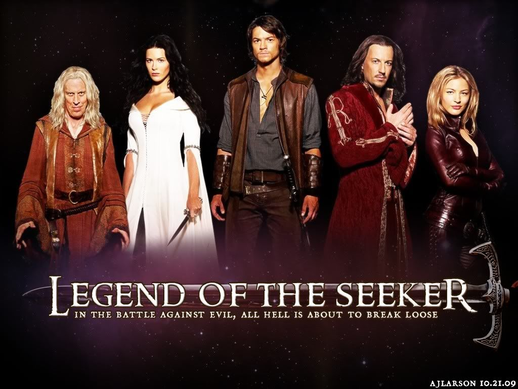 Legend of the Seeker Sword of truth, Legend, Movies to