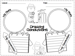 Drawing Conclusions Lesson for K/1 | Graphic organizers, Graphics ...