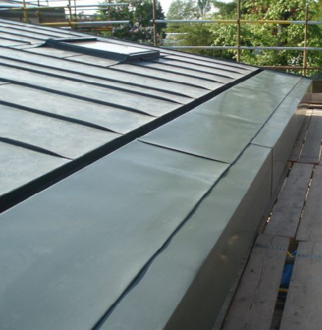 Zinc Roof Detail To Home Zinc Roof Standing Seam Roof