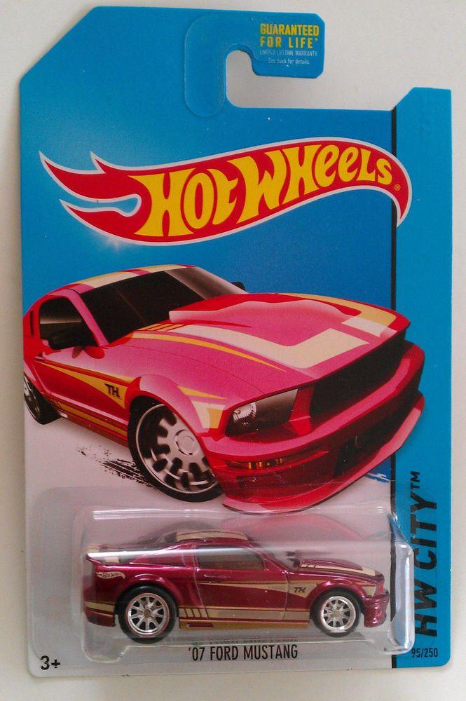 2014 Hot Wheels Super Treasure Hunt 07 Ford Mustang Hotwheels