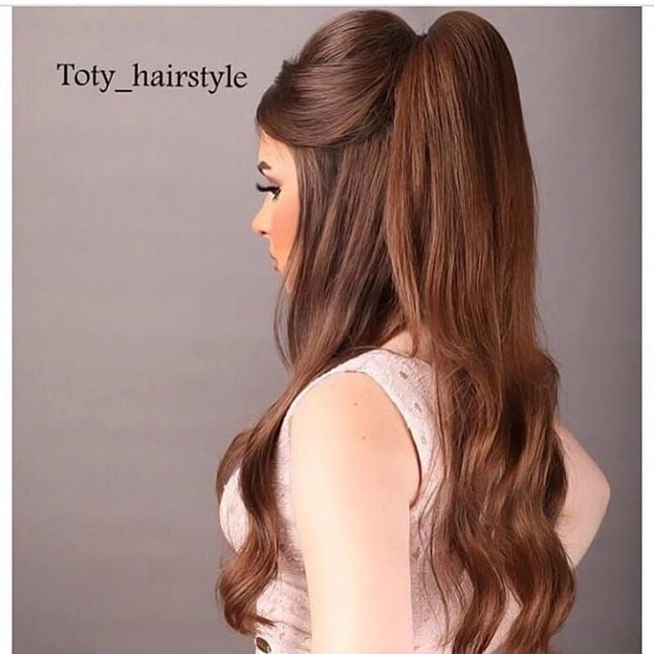 شو رايكم بالتسريحه كم تعطونها من تعلمي معنى فنون تسريح الشعر في ثانية Follow About Hair Uae For More Hair Sty Hair Waves Cool Hairstyles Hair Sytles