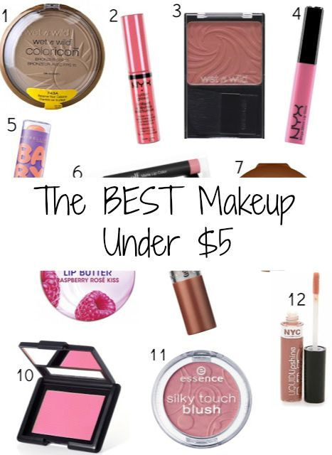 good makeup products. the best makeup products under $5 good r