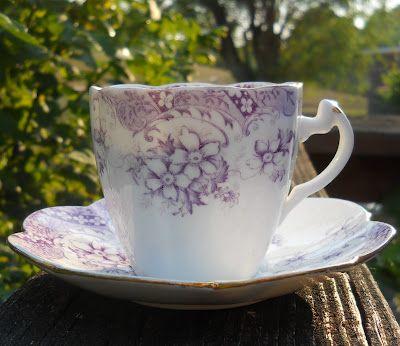 ~Que Bella~: Foley China ~ Tea Cup Tuesday