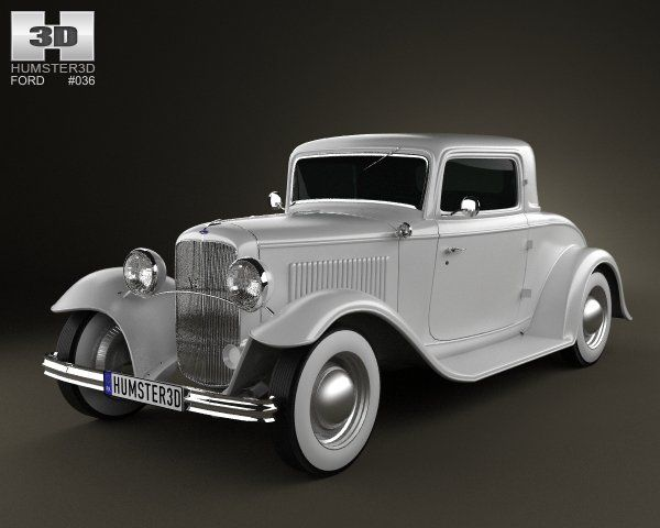 Ford Model B De Luxe Coupe V8 1932