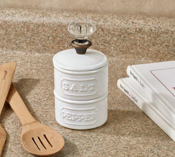 Salt & Pepper Shaker Sets Kitchen & Dining Mud Pie Salt and Pepper ...