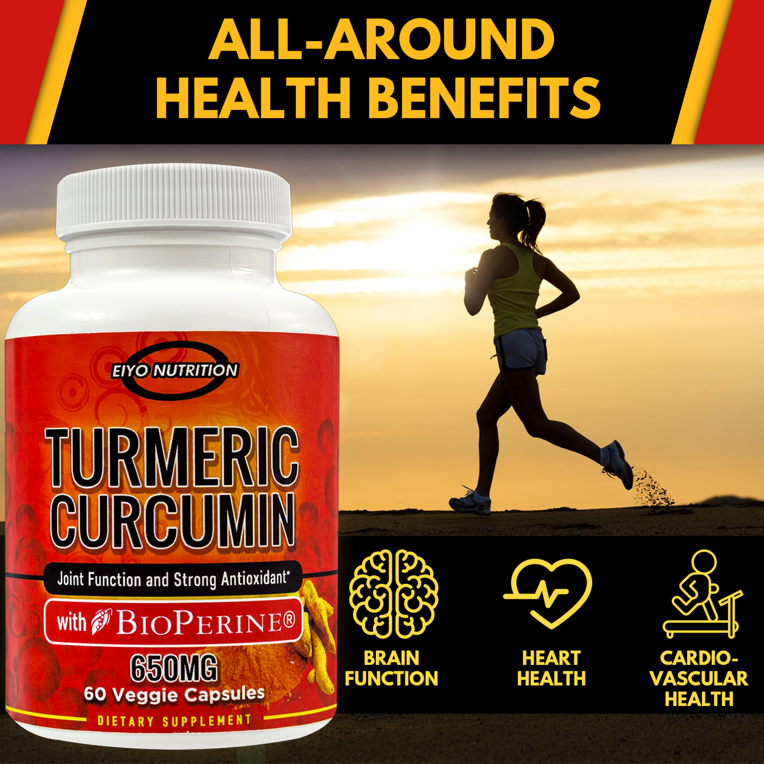 Turmeric is an excellent anti-inflammatory! Let Eiyo