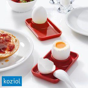 Koziol Ei Pott 2 0 Egg Cup Food Egg Cups Desserts