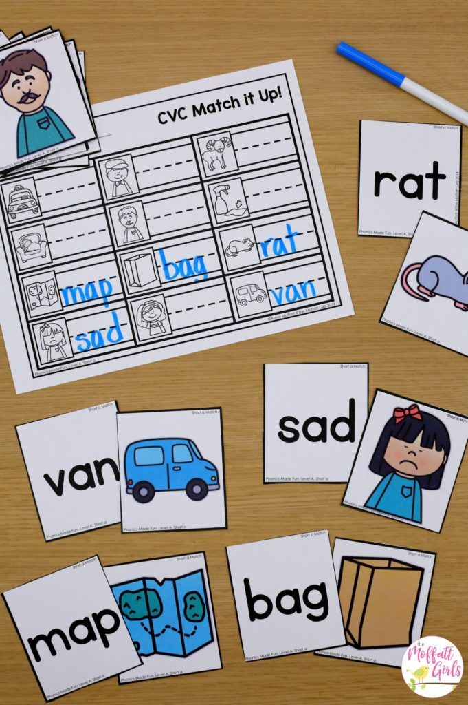 Phonics Made Fun Level A (short a words) is part of Teaching phonics, Phonics kindergarten, Cvc word activities, Phonics lessons, Phonics, Cvc words kindergarten - Are you ready to teach phonics in a FUN way  Explicit and systematic phonics instruction is so important for beginning readers  I am excited to share with