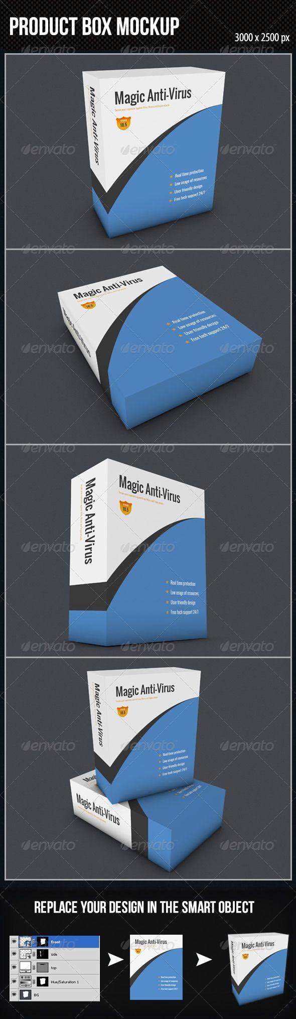 Download Product Box Mockup Box Mockup Mockup Packaging Mockup
