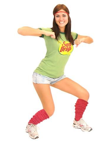 sun drop teen costume make it hot on halloween when you drop it low in this officially licensed sun drop adult teen costume set - Sundrop Halloween Costume