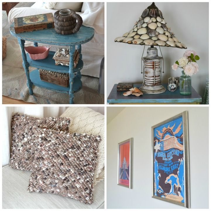 CT Beach House With Lots Of Seashell Decor.