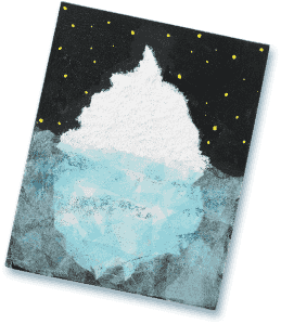 Michaels Antarctica Craft- Iceberg | Download the instructions and supply list. http://www.michaels.com/Passport