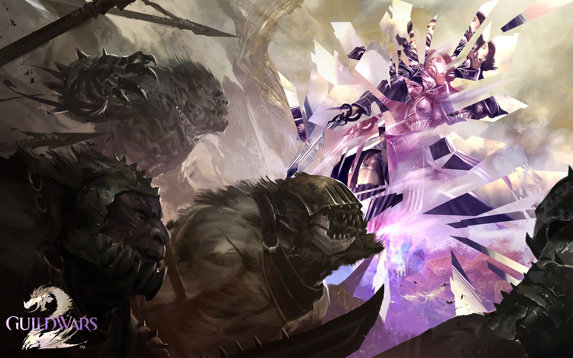 Guild Wars 2 Mesmer Wallpaper Guild Wars Guild Wars 2 Art
