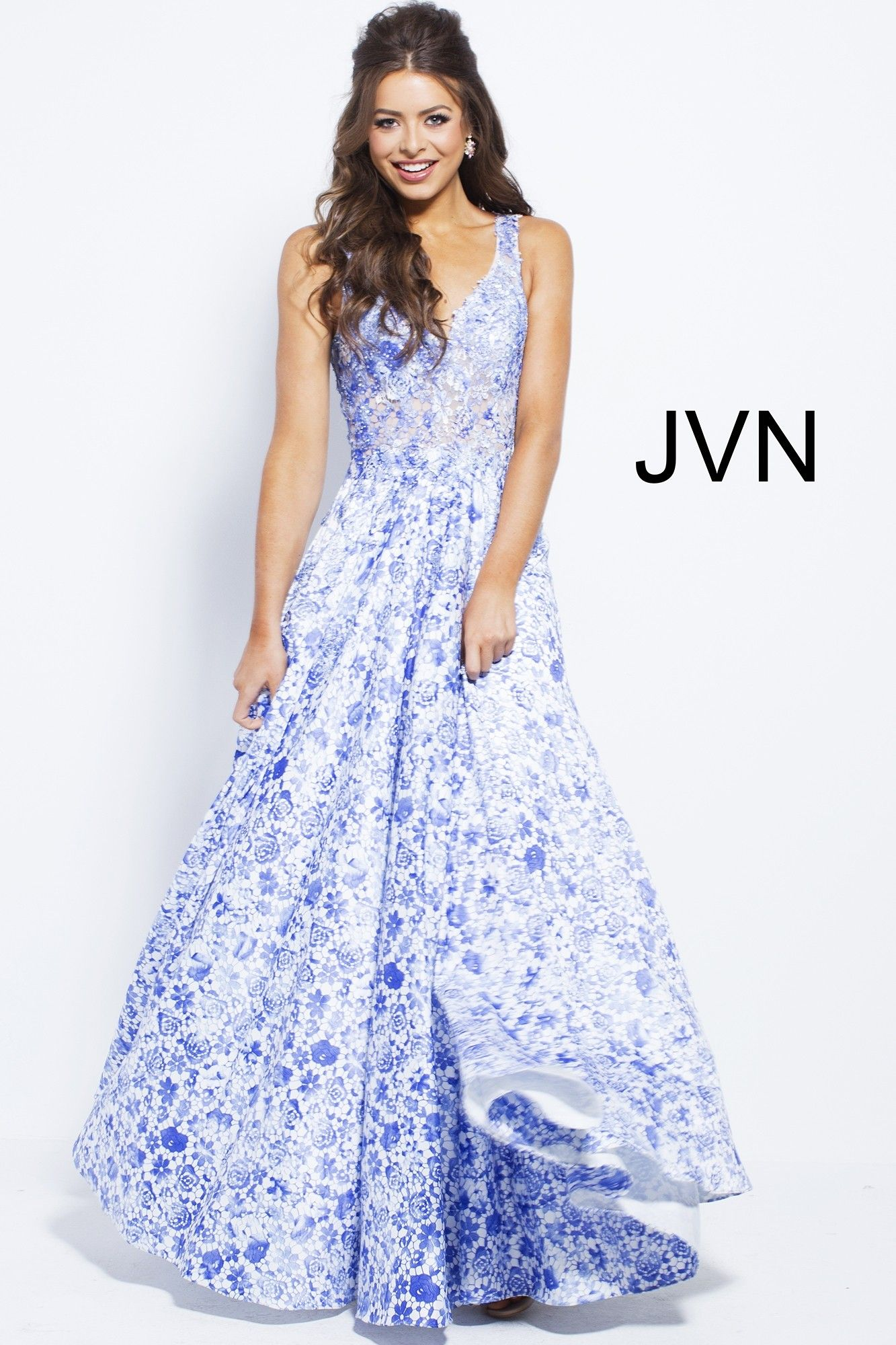 81350715b8 You deserve the very best in JVN 50050. This sophisticated ball gown will  make you