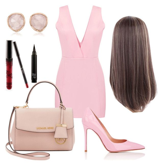 """""""Unbenannt #270"""" by lailabalic ❤ liked on Polyvore featuring Michael Kors, Gianvito Rossi and Monica Vinader"""