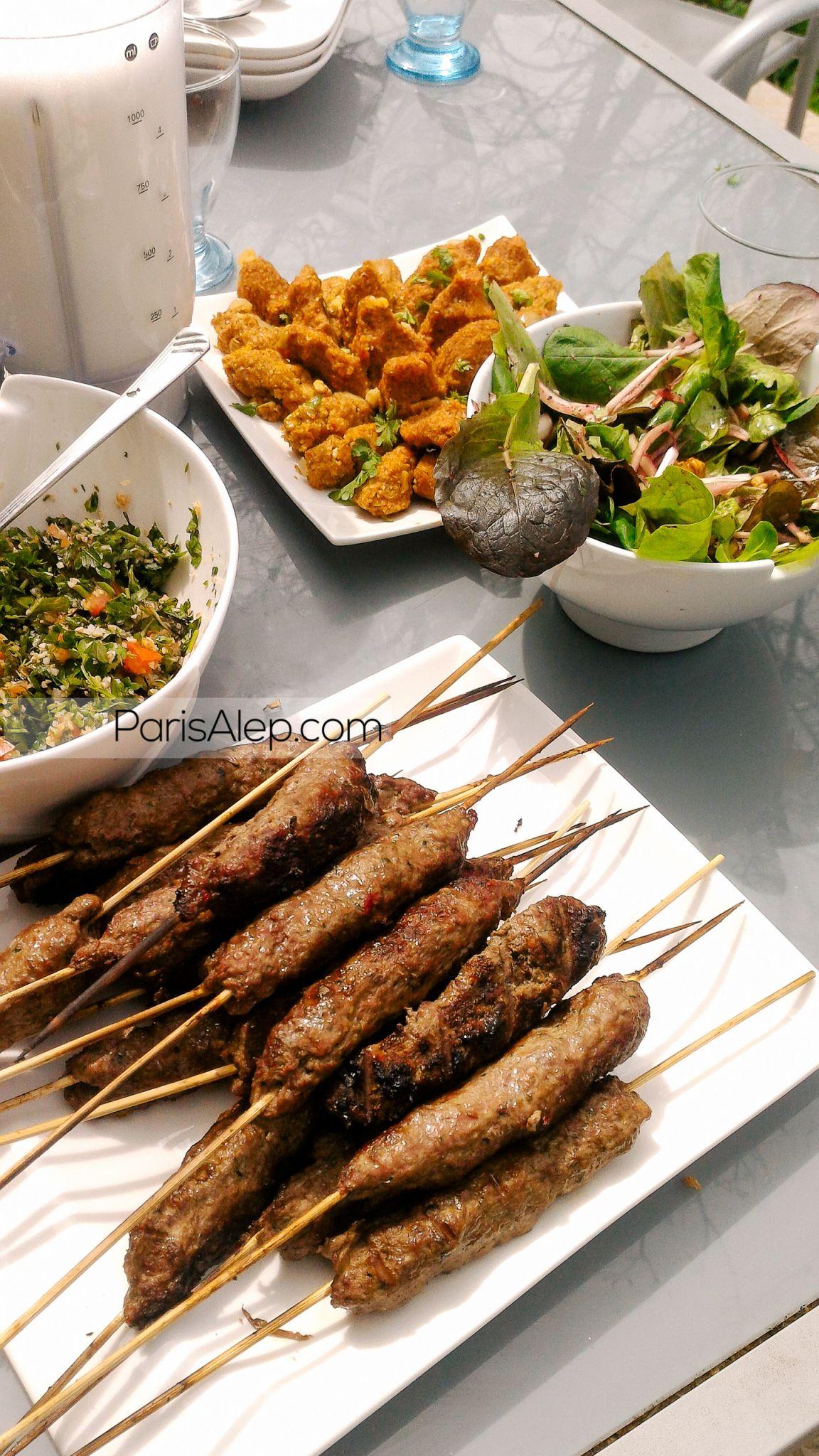 Kabab Halabi Paris Alep Cuisine Syrienne Recettes