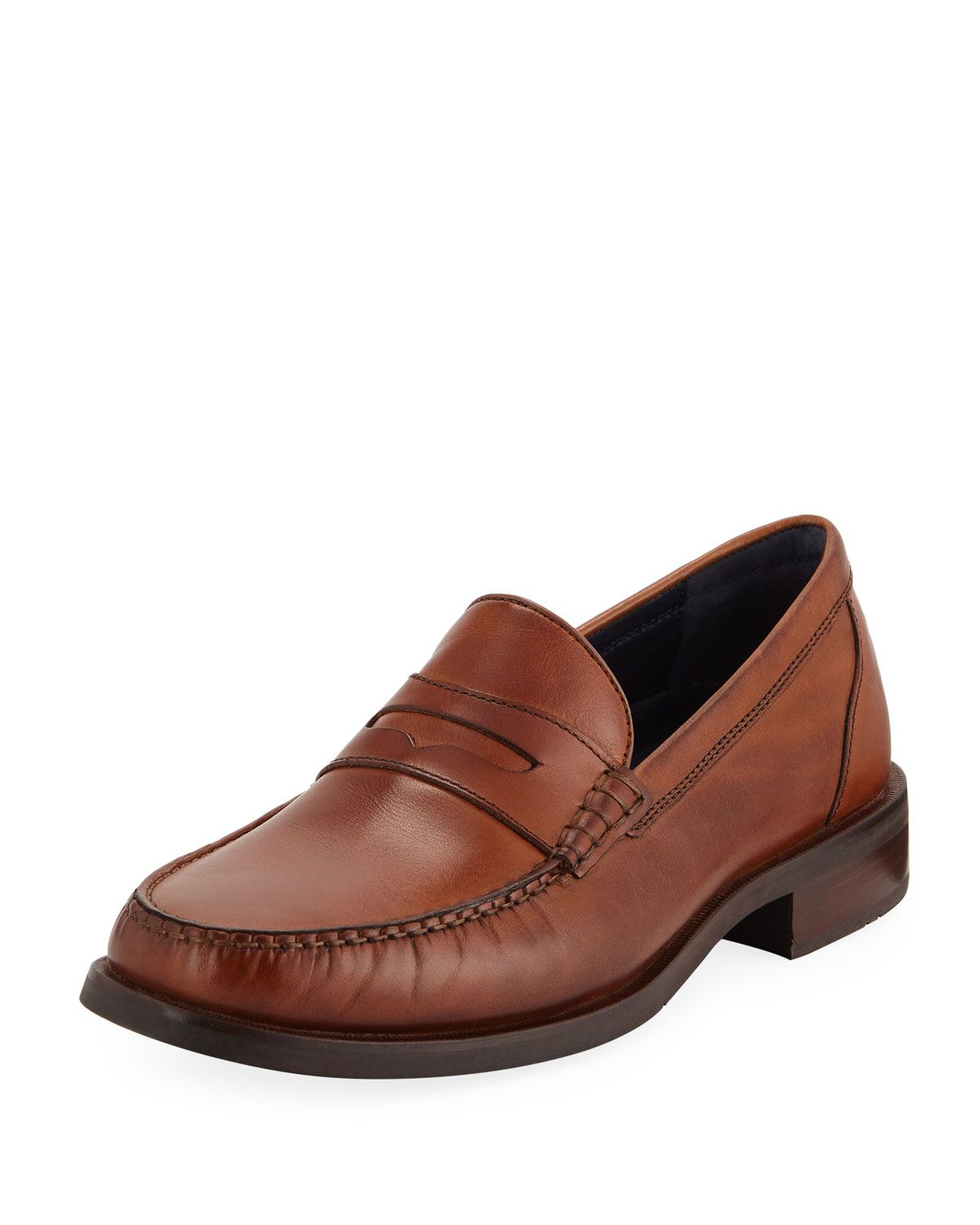 3278f3fda65 COLE HAAN MEN S PINCH SANFORD PENNY LOAFERS.  colehaan  shoes