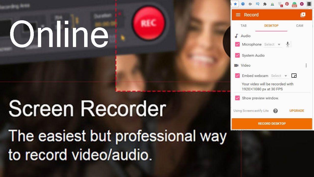 Screen Recorder Online Free - Best Video Capture