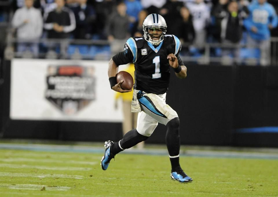 Cam Newton Panthers vs patriots, Football helmets