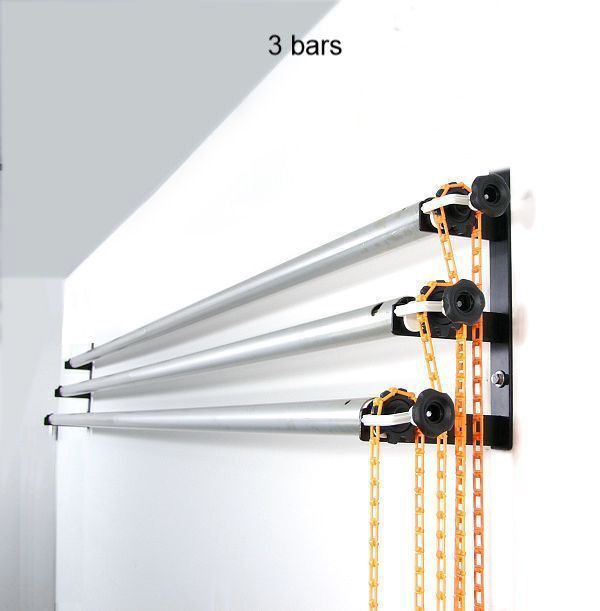 Alzo 10 Ft Wide Wall Mount Background Support Kit 3 Poles To Prevent Paper Sag Home Studio Photography Photography Studio Design Photo Studio Design