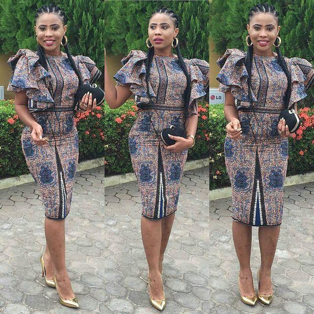 Lovely Ankara Gown Design for Ladies - DeZango Fashion Zone | Ladies ...