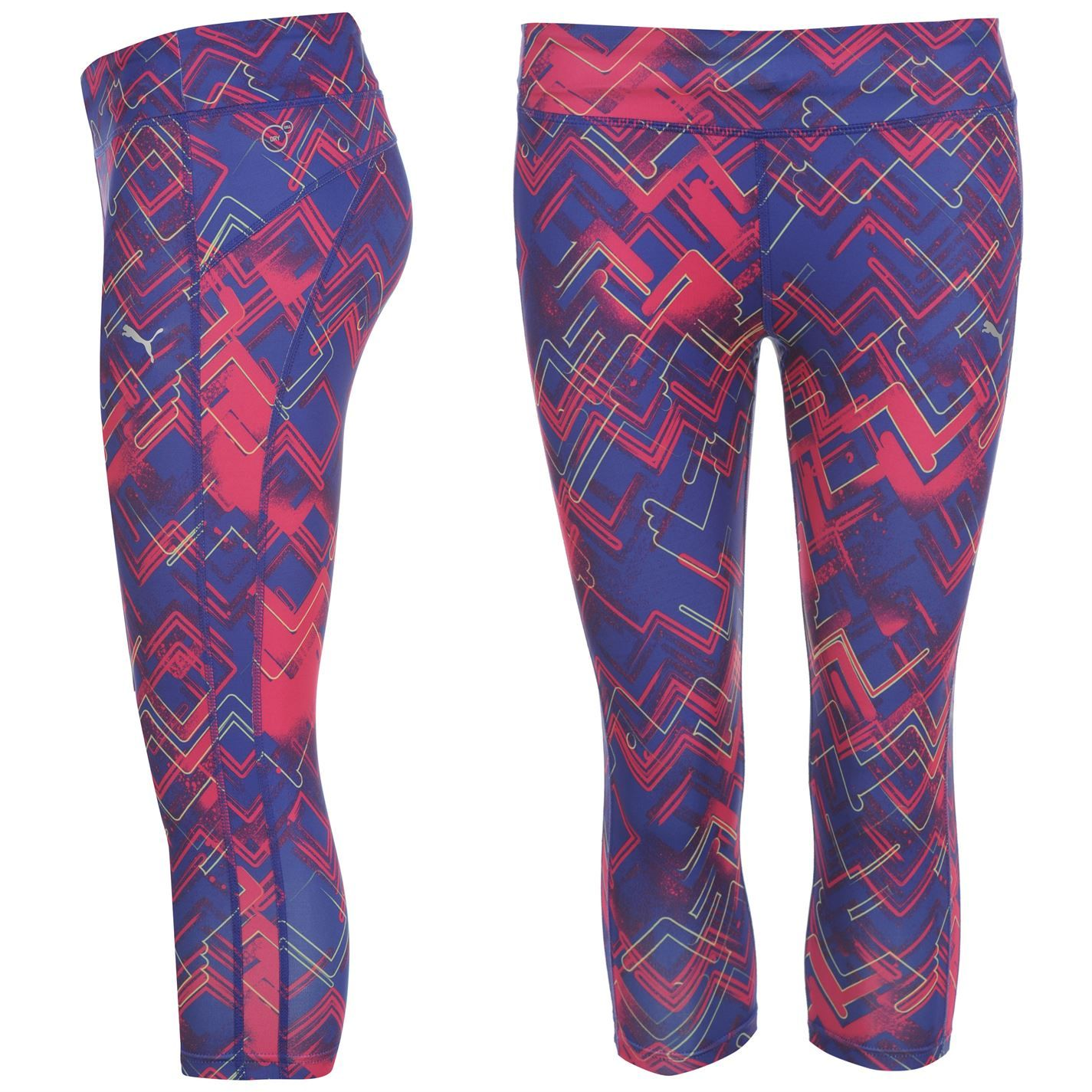 Puma Gym Three Quarter Gym Tights Ladies >> Now £18 #yoga
