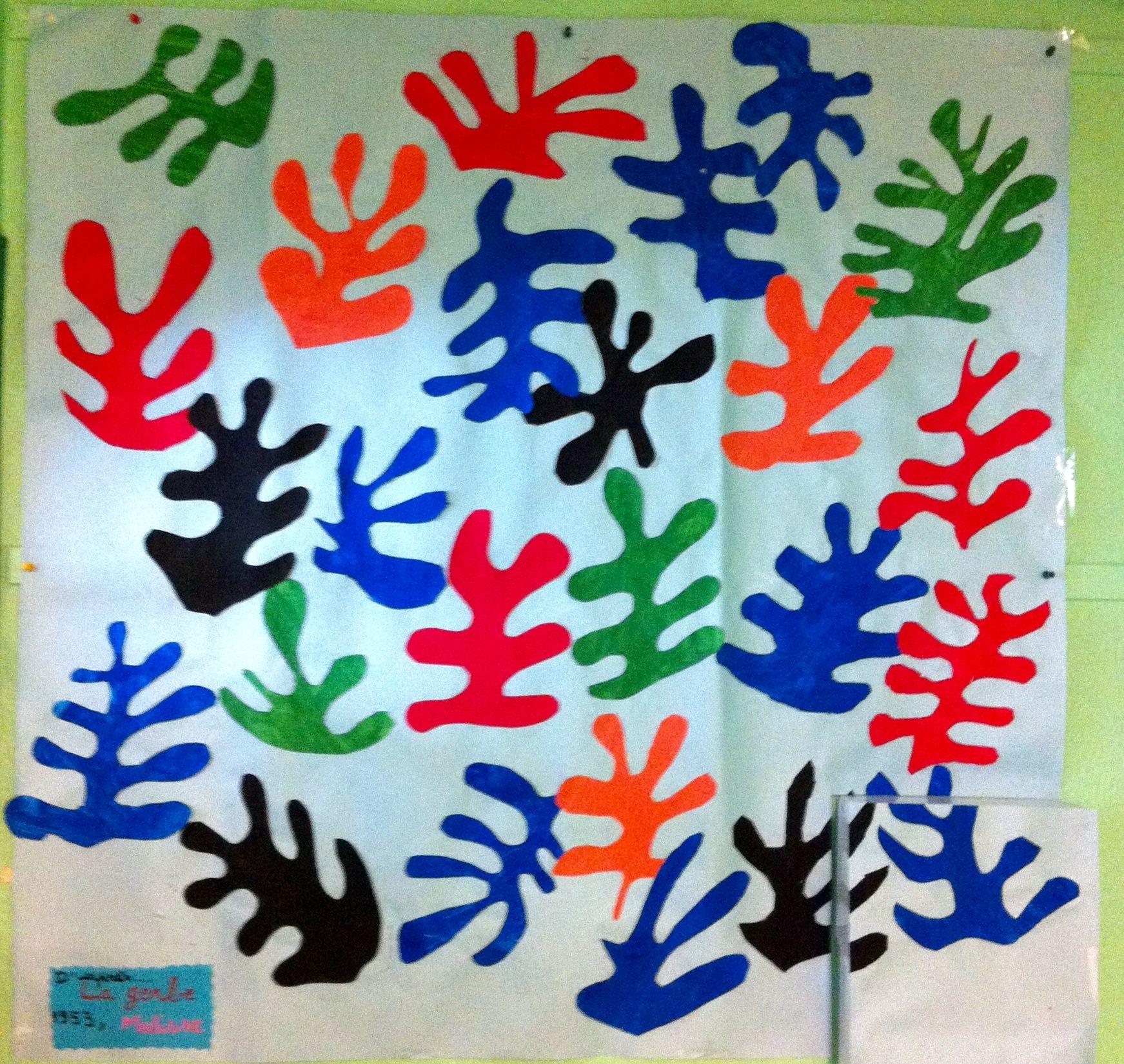 Fabuleux D'après La Gerbe d'Henri Matisse Oeuvre collective: peinture  DQ51