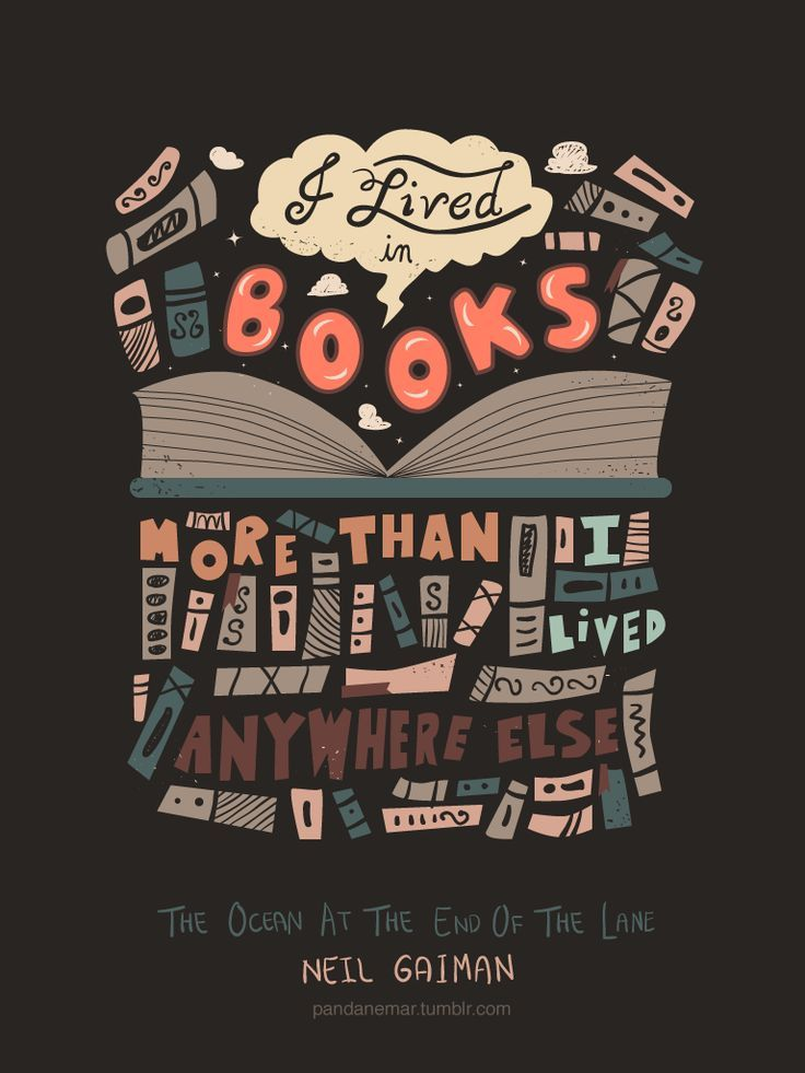 """I Lived In Books More Than I Lived Anywhere Else"""" ― Neil Gaiman Extraordinary Ipi Quote"""
