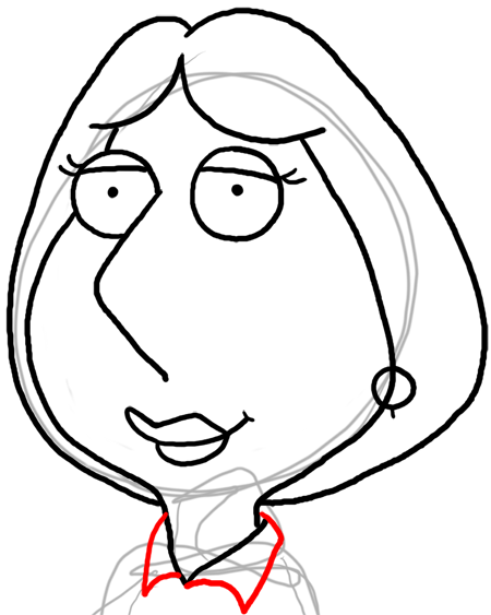 How To Draw Lois Griffin From Family Guy With Easy Step By Step