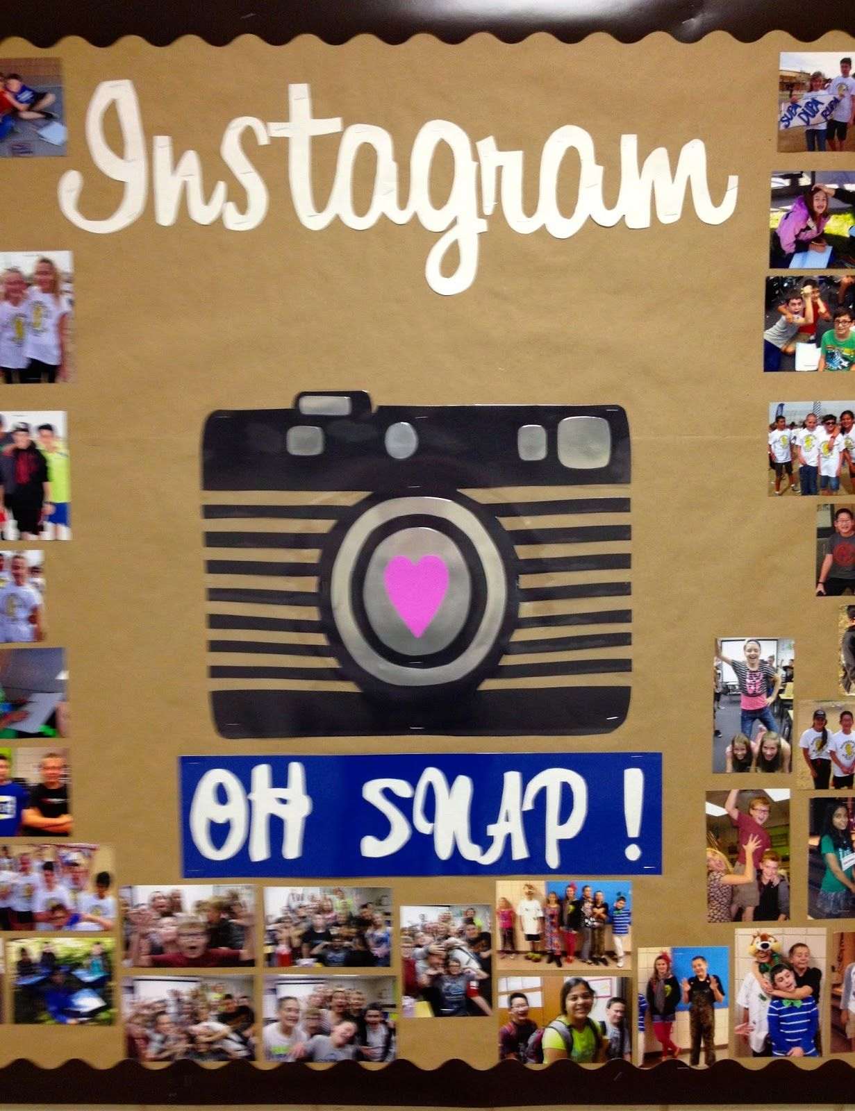Instagram Bulletin Board. From Marci Coombs Blog. I will use this ...