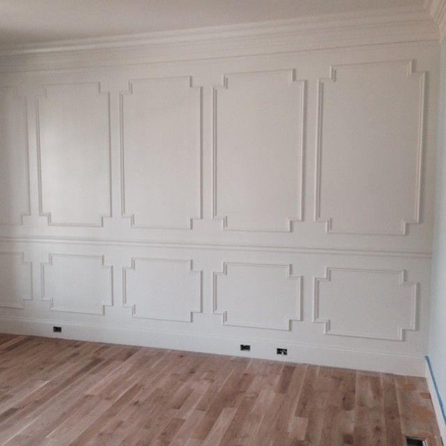 wainscot LOVE - try this on our fireplace