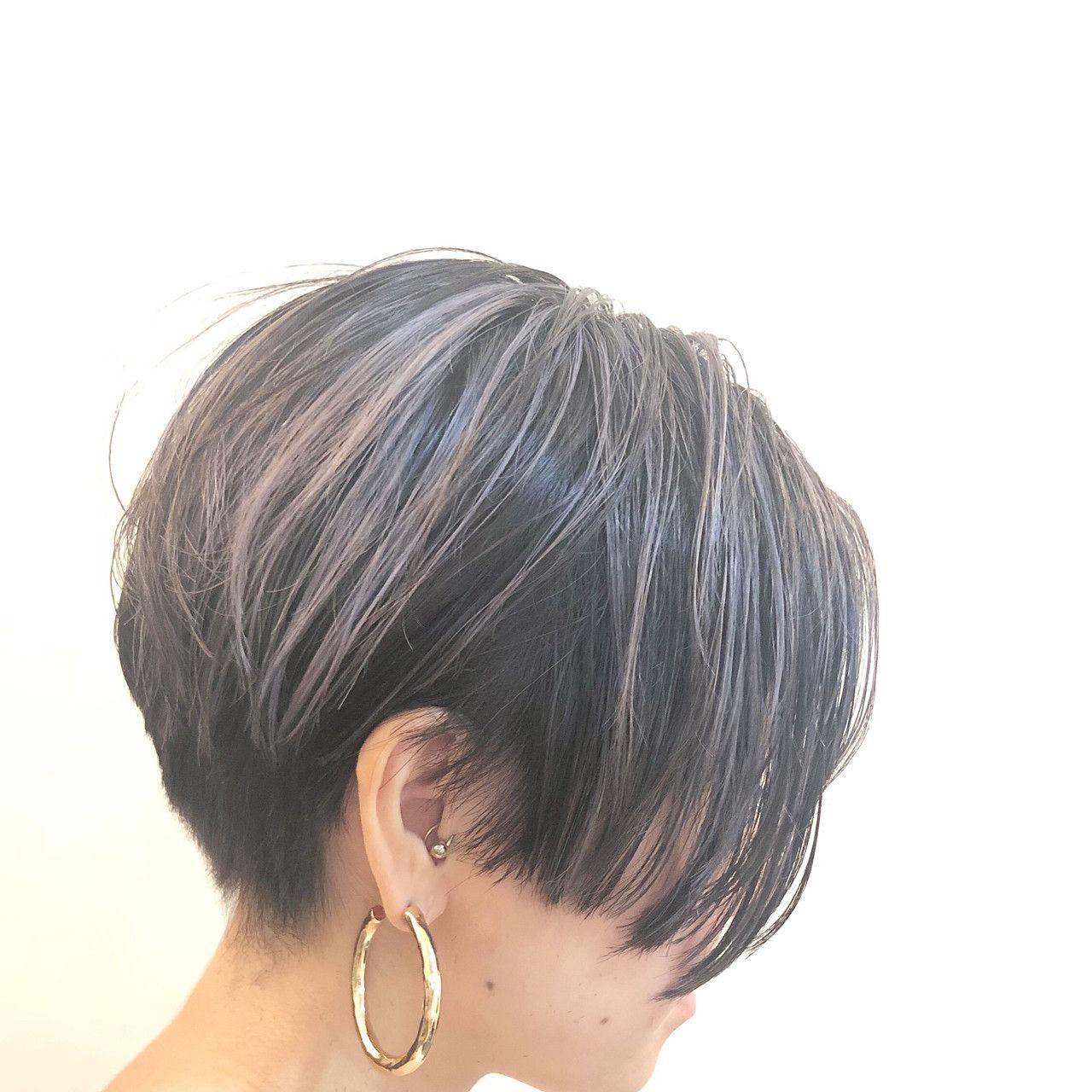 暗めグラデーションカラーで大人のモテ髪に ブリーチなしでもokなおすすめカラー Hair ヘアカット ヘアスタイル シャグヘアスタイル