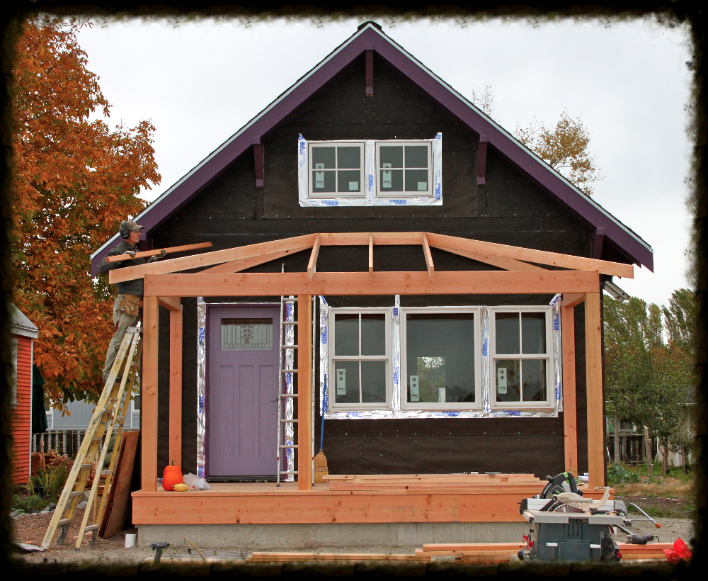 News Update For Autumn 2012 House With Porch Porch Roof