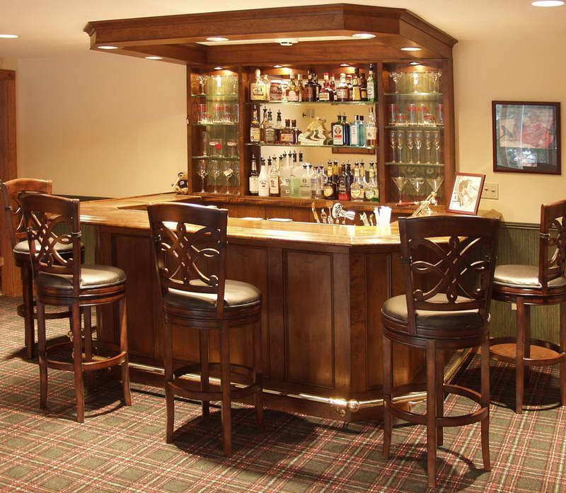 mini custom home bar decorating ideas pictures