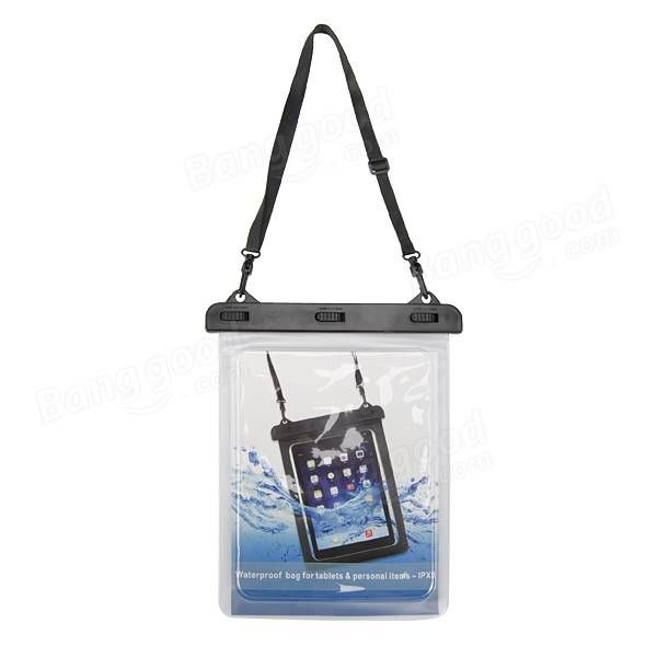 PVC Touch Screen Portable Case Waterproof Bag For iPad Air 2 Mini 7-11 Inch Tablet Sale - Banggood.com
