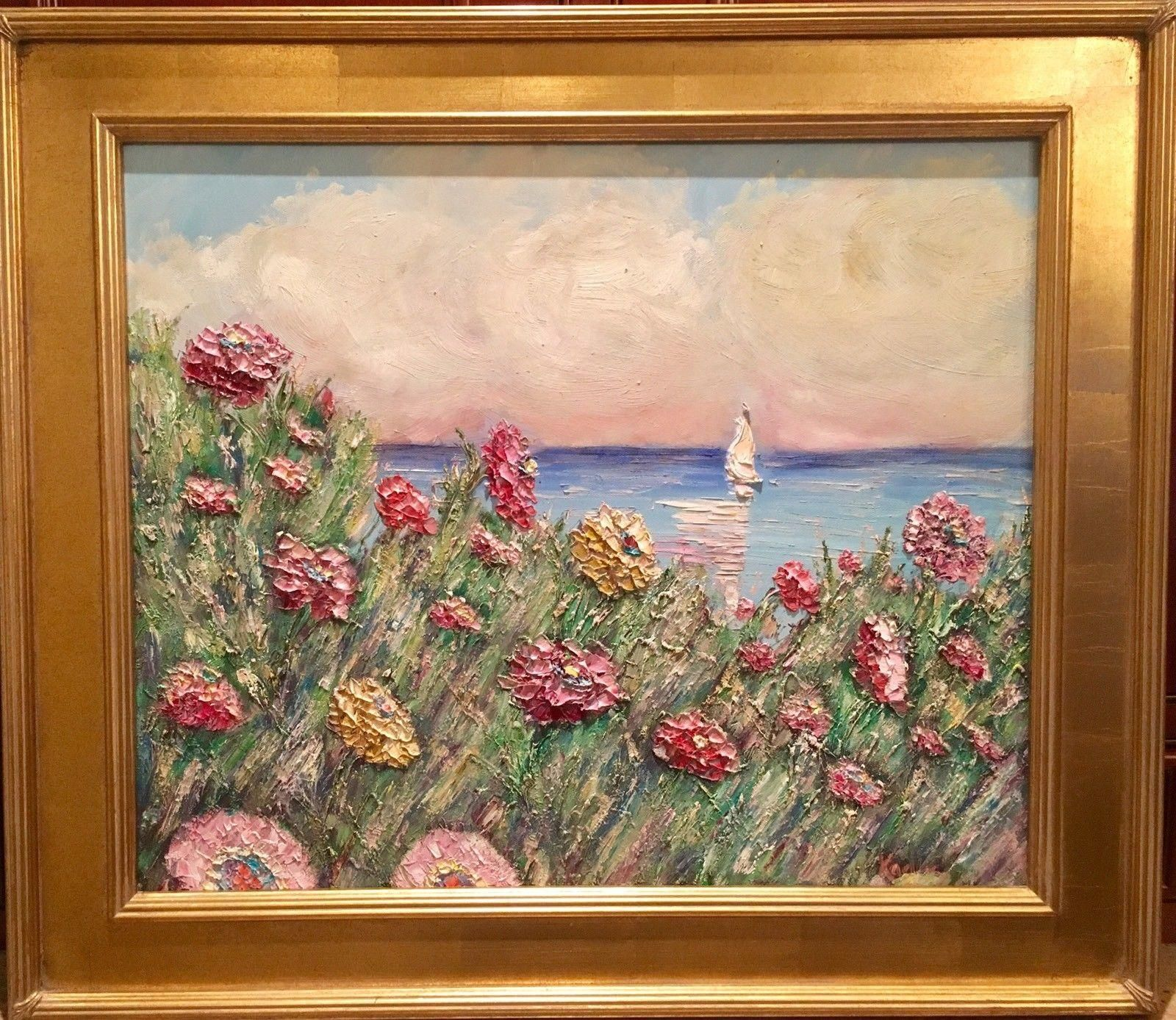 Wildflowers Seascape\