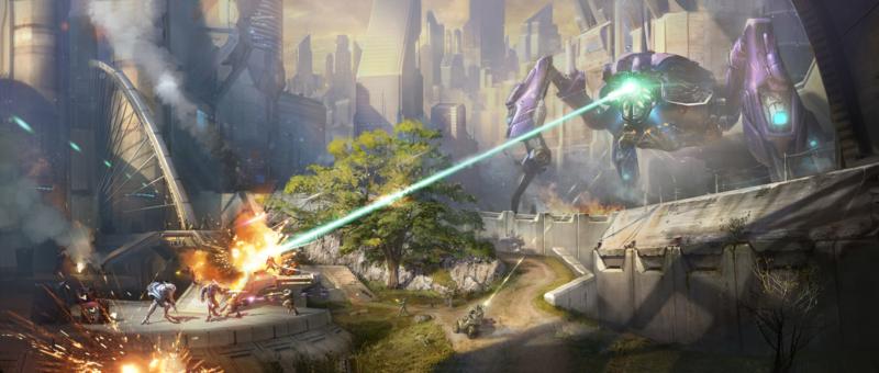 Halo 2A concept art | 1 Halo | Halo series, Halo 2, Halo