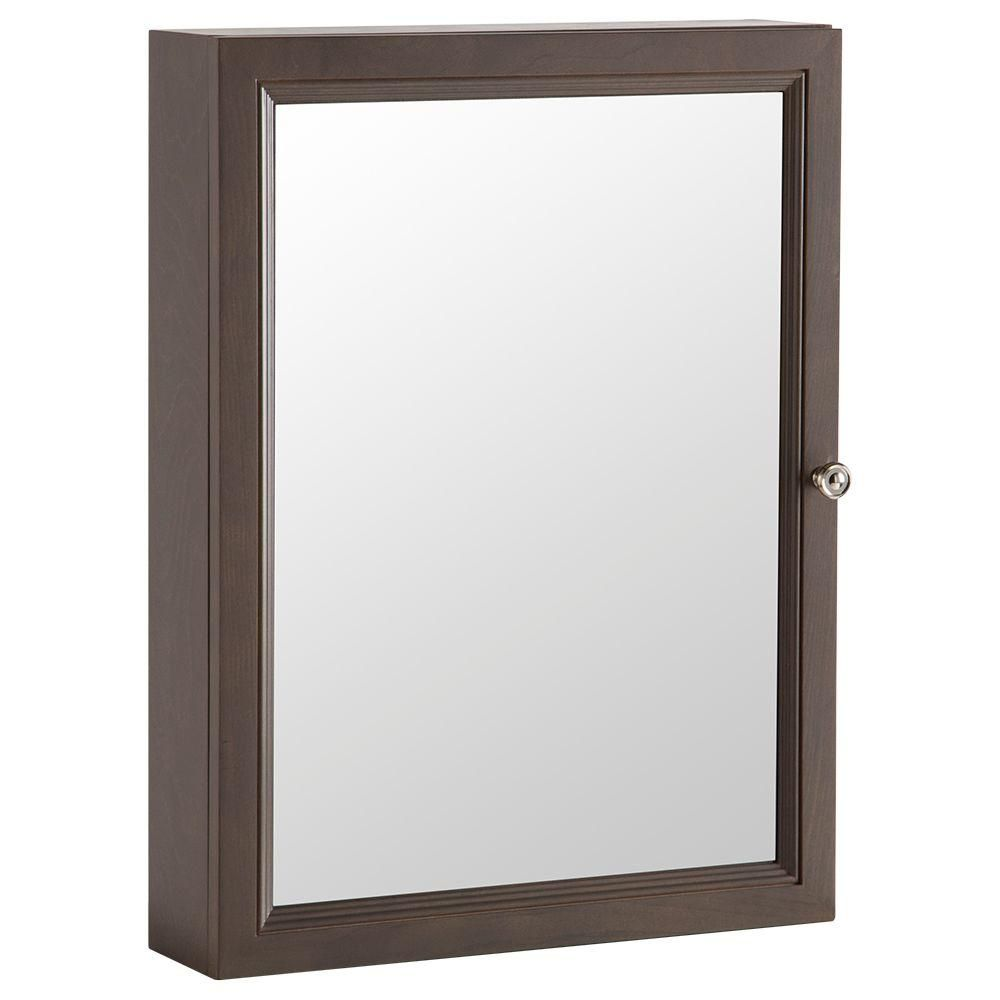 Home Depot Medicine Cabinet With Mirror Extraordinary Glacier Bay Delridge 2213100 Inw X 2912 Inh Framed Surface