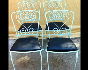 vintage wrought iron patio furniture u2013 homecrest sold on etsy